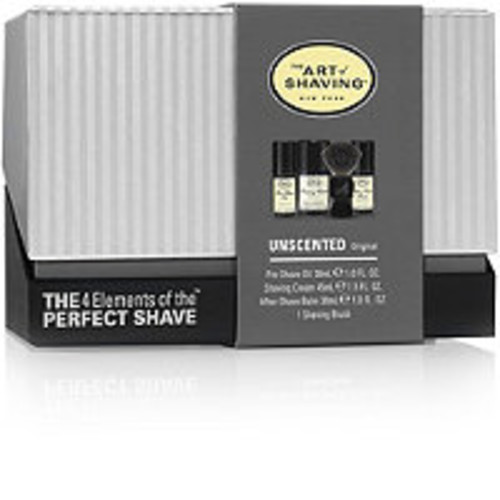 The 4 Elements of the Perfect Shave Unscented Mid-Size Kit