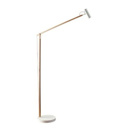 Adesso 61in Natural Crane LED Floor Lamp