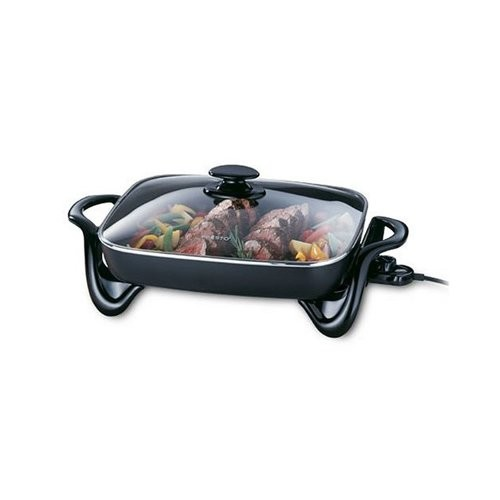 Presto 06852 16-Inch Electric Skillet with Glass Cover [1]