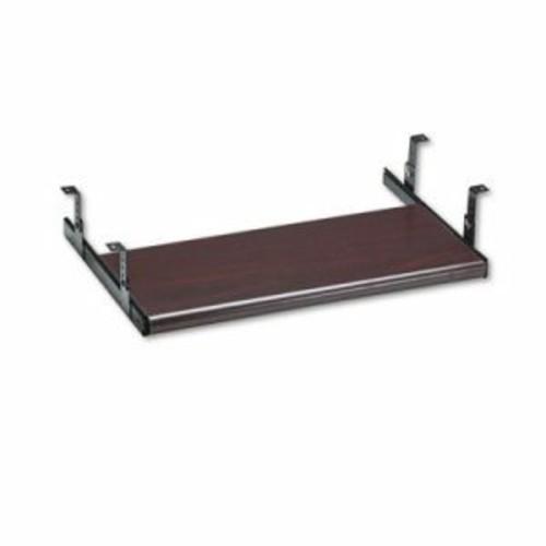 HON Company Slide-Away Keyboard Platform, Laminate, 21-1/2w x 10d, Mahogany per EA