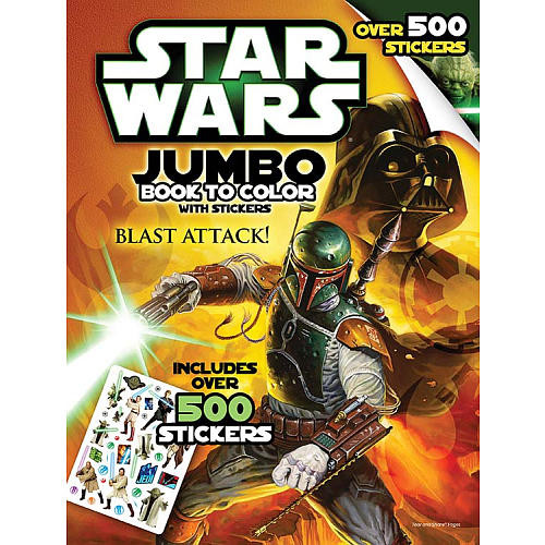 Star Wars Giant Sticker Coloring & Activity Book