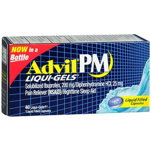 Advil PM Liqui-Gels, 40 Count