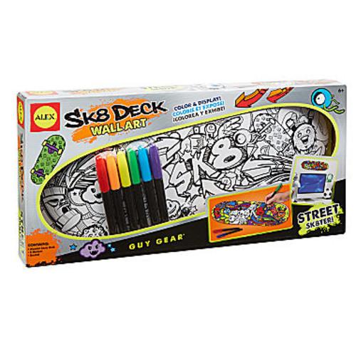 ALEX Toys Craft Sk8 Deck Wall Art Street Sk8ter