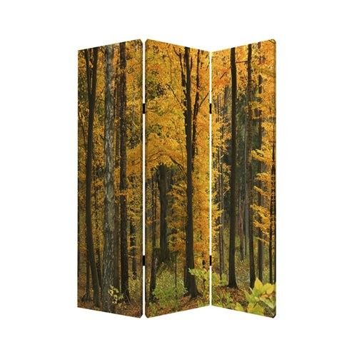 Screen Gems 72'' x 48'' Autumn Journey 3 Panel Room Divider