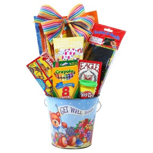 Kid's Get Well Soon Gift Pail