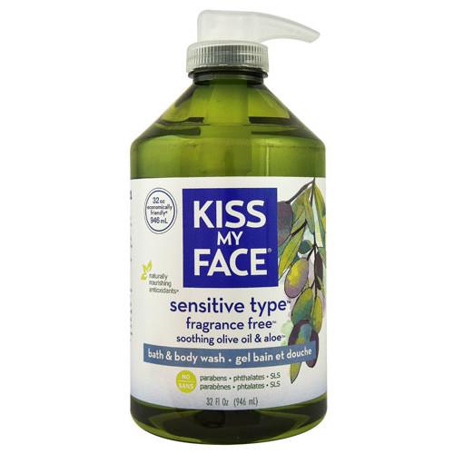 Kiss My Face Bath & Body Wash Fragrance Free -- 32 fl oz