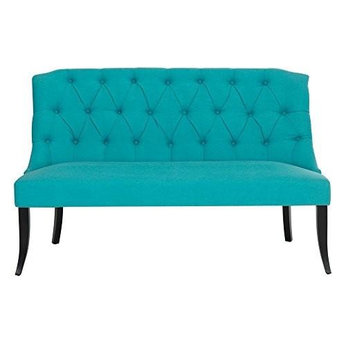 Safavieh Home Collection Jarlan Desk Chair, Silver/Cherry