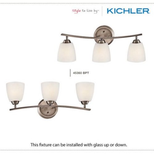 Kichler 45358OZ One Light Wall Sconce