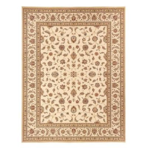 Home Decorators Collection Maggie Cream 3 ft. 11 in. x 6 ft. Area Rug