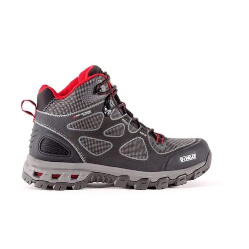 DEWALT Lithium Mid Men Size 10.5(W) Black/Red Steel Toe Waterproof Athletic Work Boot