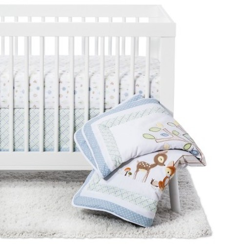Trend Lab 6 Piece Crib Bedding Set - Forest Tales