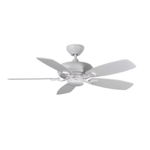 Monte Carlo Designer Max Rubberized White 52-inch Ceiling Fan