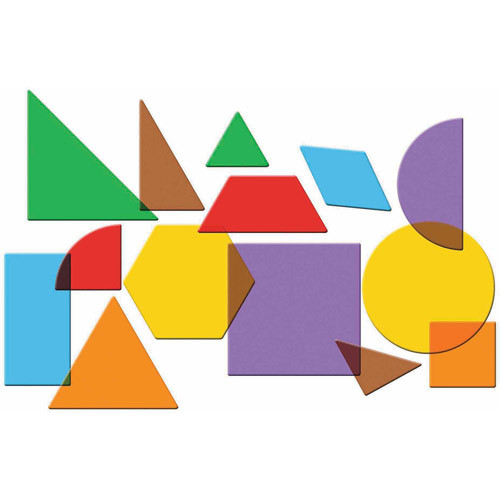 Learning Resources Translucent Geometric Shapes [1]
