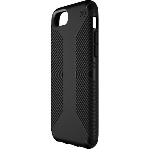 Speck - Presidio Grip Case for Apple iPhone 6, 6s, 7 and 8 - Black