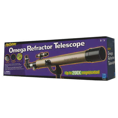 GeoVision Omega Refractor Telescope by Educational Insights