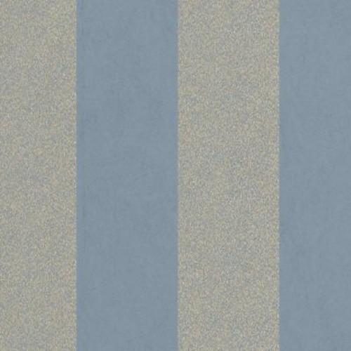 Graham & Brown Blue Artisan Stripe Wallpaper