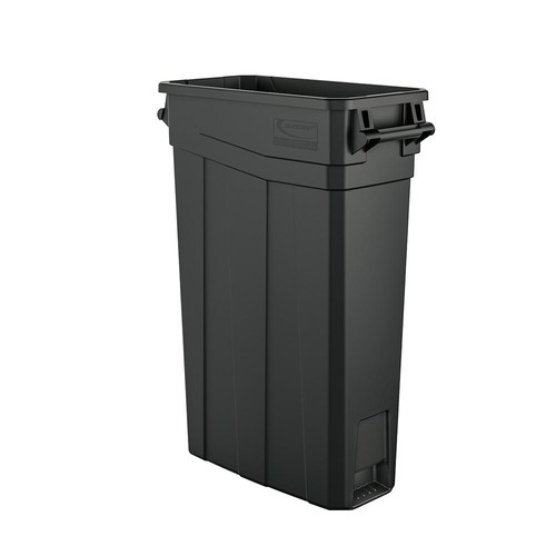 Suncast Commercial 23 Gal. Resin Slim Trash Can