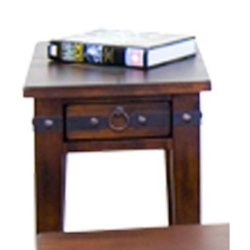 Santa Fe Brown Side Table