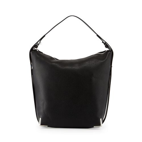 ALEXANDER WANG Prisma Skeleton Hobo Bag, Black