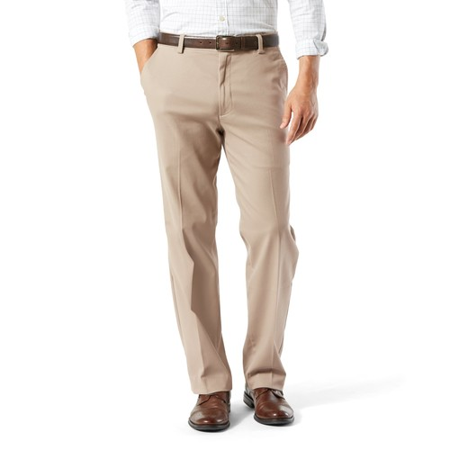 Big & Tall Dockers Stretch Easy Khaki D3 Classic-Fit Flat-Front Pants