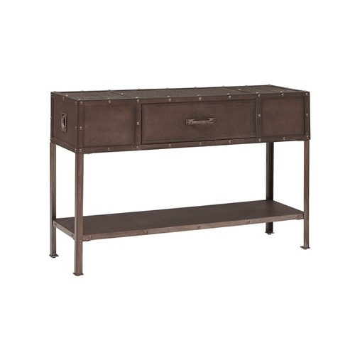 Ink and Ivy Coffee, Console, Sofa & End Tables INK+IVY Benicia Industrial Grey Console Table