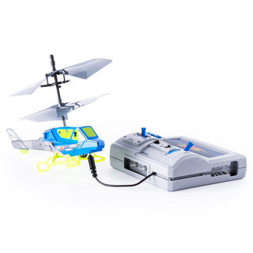 Air Hogs Axis 200 RC Helicopter With Batteries - Blue