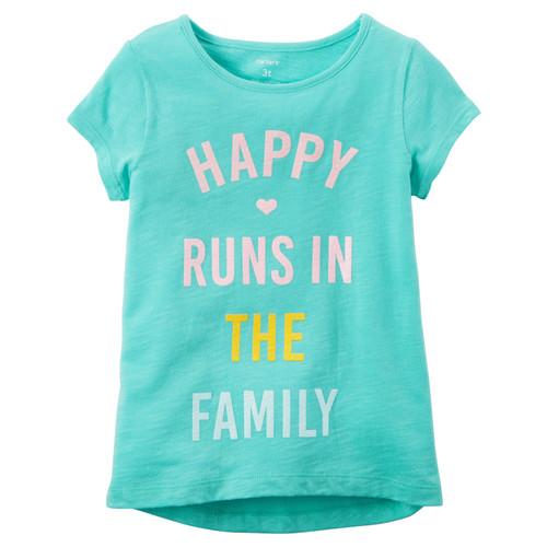 Happy Runs In The Family Hi-Lo Tee