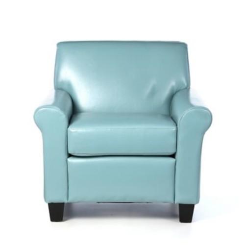 Red Barrel Studio Biloxi Arm Chair; Teal Blue
