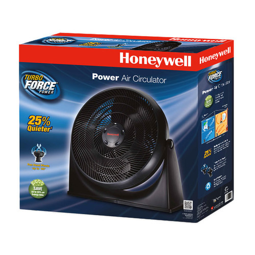 Honeywell TurboForce Floor Fan, HF-910 [1 Pack]