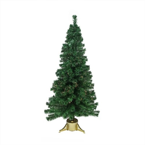 6' Pre-Lit Color Changing Fiber Optic Artificial Christmas Tree - Multi Lights