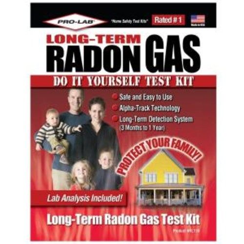 PRO-LAB Long Term Radon Gas Test Kit