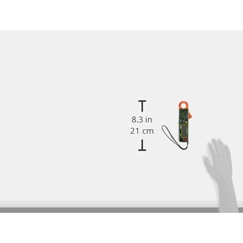 Extech 380941 High Resolution Mini 200A AC/DC Clamp Meter [200A]