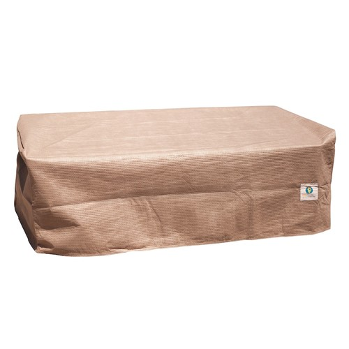 Duck Covers Elite 24 in. Square Patio Ottoman or Side Table Cover