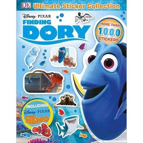 Disney Pixar Finding Dory ( Ultimate Sticker Collections) (Paperback)
