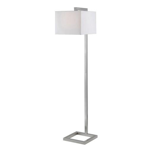 Kenroy Home 21080BS 4 Square Floor Lamp, Brushed Steel [Brushed Steel Finish]