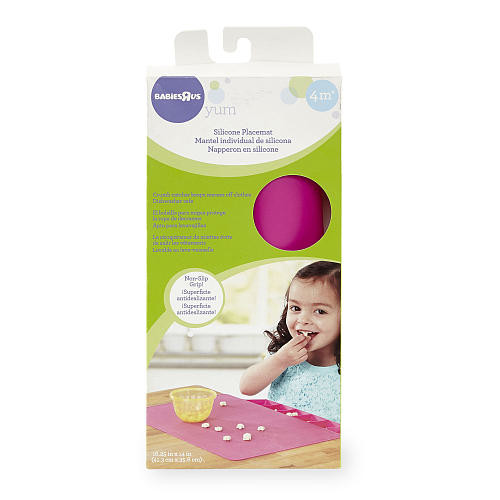 Babies R Us Silicone Placemat - Pink