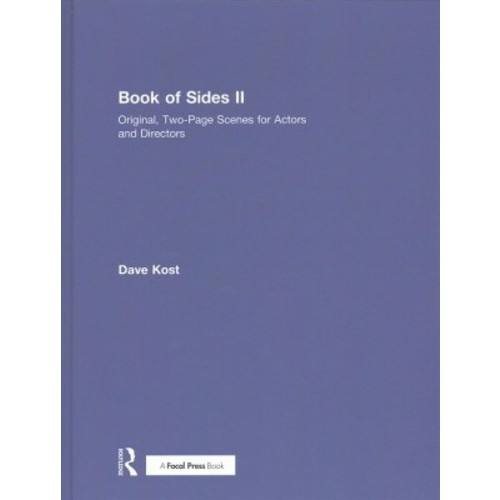 Book of Sides : Original, Two-Page Original Scenes for Actors and Directors (Vol 2) (Hardcover) (Dave