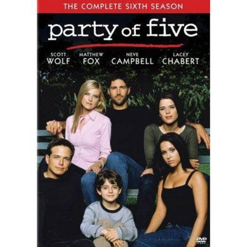 Party of Five: The Complete Sixth Season [5 Discs] [DVD]