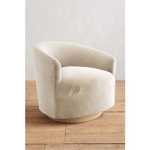 Velvet Amoret Swivel Chair [REGULAR]