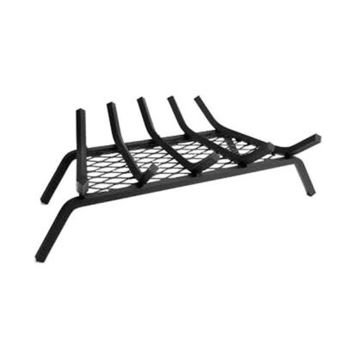 Liberty Foundry 27 in. Steel Bar Fireplace Grate with 5 in. Legs