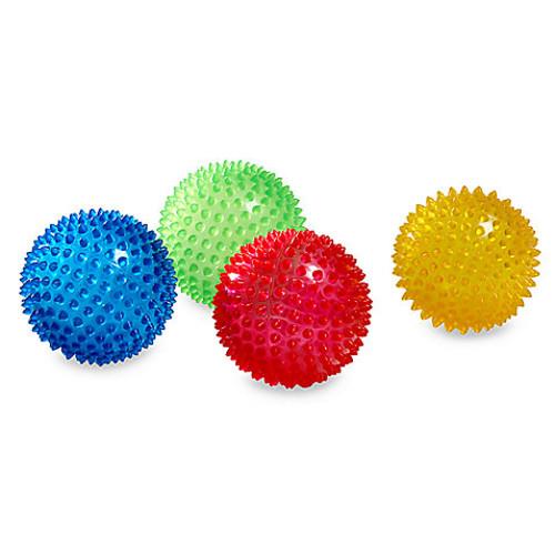 Edushape 4-Inch Sensory Balls (Set of 4)