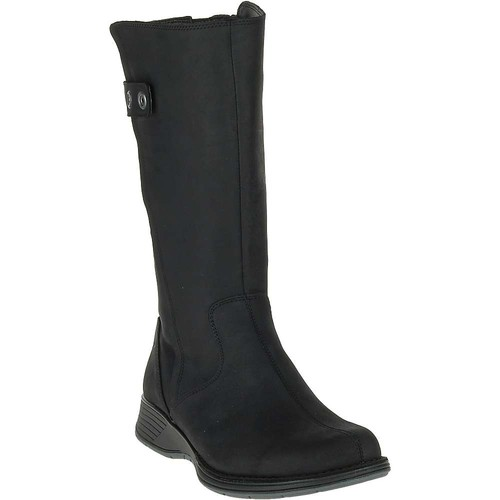 MERRELL Women's Travvy Tall Waterproof Boots, Black