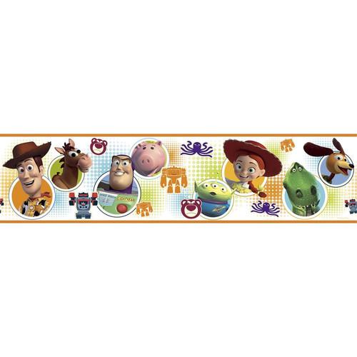 Roommates Rmk1429Bcs Toy Story 3 Peel & Stick Wall Border