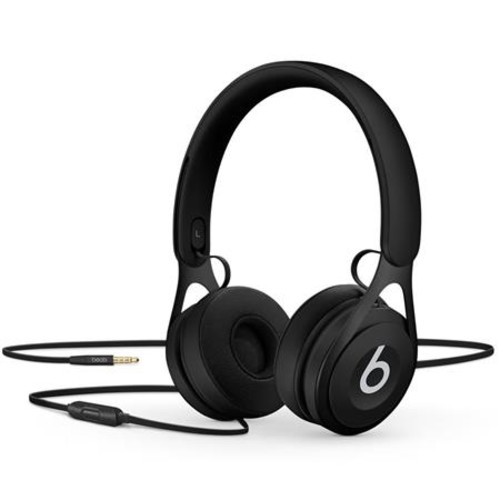 Beats by Dr. Dre EP, On-Ear Headphones, Black - with Remote and Mic