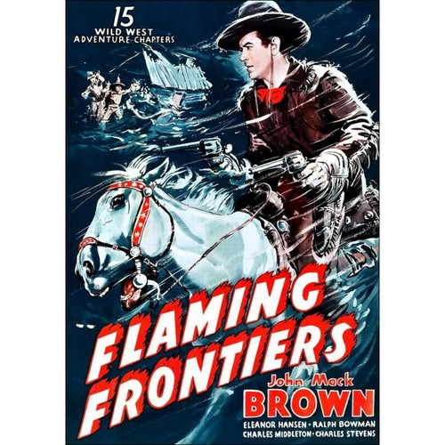 Flaming Frontiers [DVD] [1938]