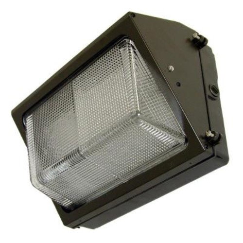 150-Watt Bronze Outdoor Pulse Start Metal Halide Wall Pack