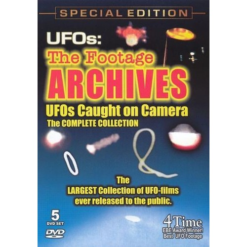 UFOs: The Footage Archives - UFOs Caught on Camera [DVD]