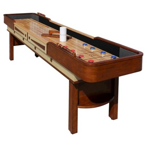 Hathaway Merlot 12 feet Shuffleboard Table