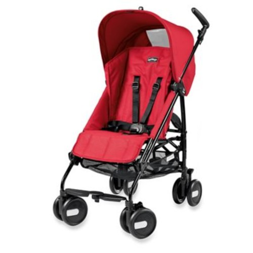 Peg Perego Pliko Mini Stroller in Mod Red