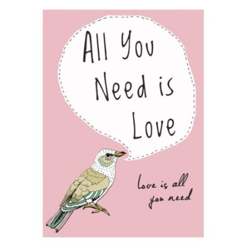 All You Need is Love by Felt Mountain Studios Graphic Art